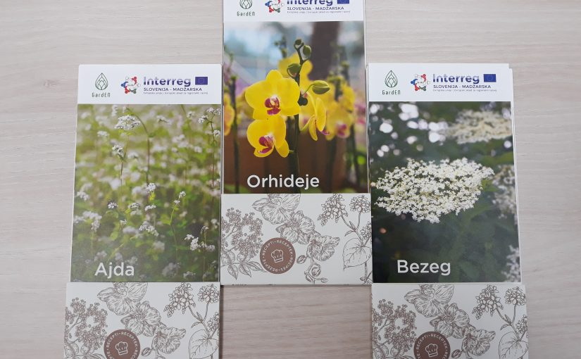 Promotional material – leaflets with tips and recipes